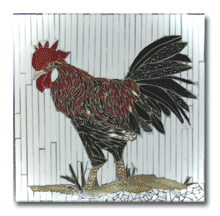 1959 - Rooster with Black Frame